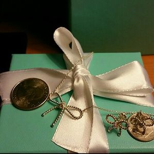 Tiffany & Co. Jewelry - Tiffany & Co.Retired Twisted Bow Necklace/Earrin